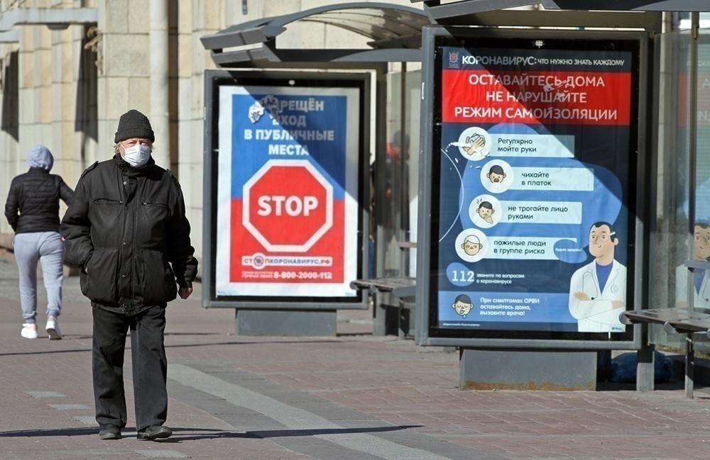 В России выявили еще 8,5 тысяч случаев COVID-19, в Петербурге — менее 700
