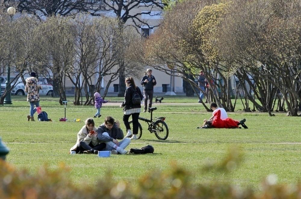 фото ЗакС политика Почти 90 парков и садов Петербурга закрыли на просушку до мая