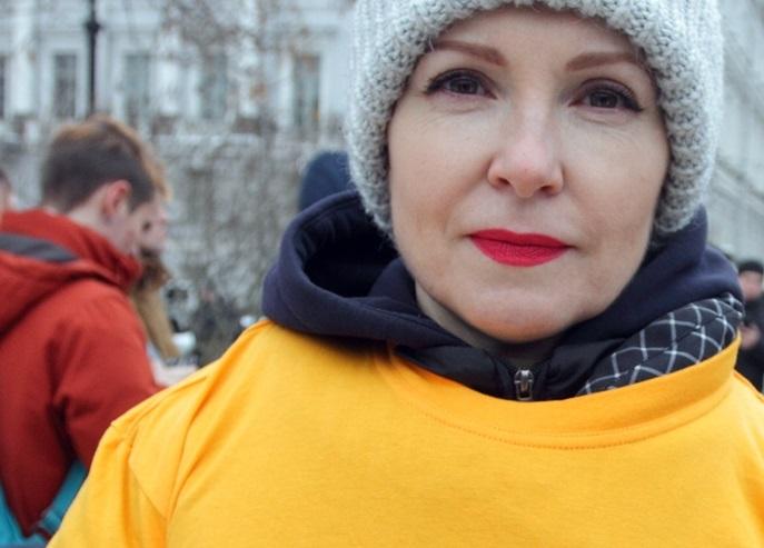 """фото ЗакС политика Полиция припугнула активистку """"Открытой России"""" двумя ночами в отделе"""