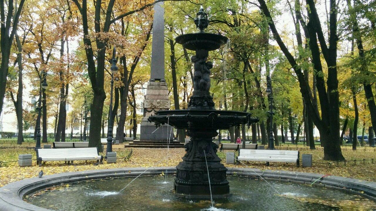 фото ЗакС политика Первые петербургские сады и парки открылись после просушки