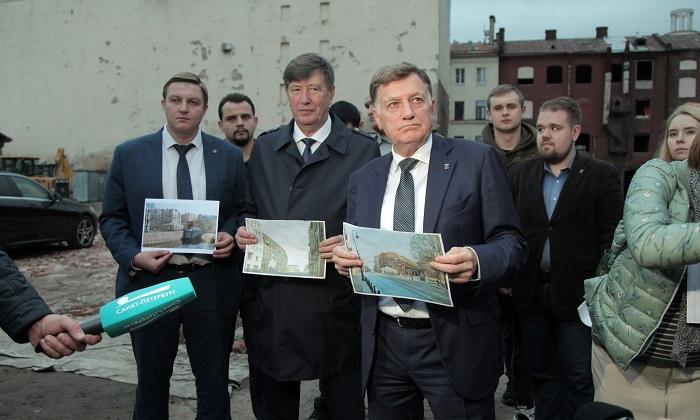 """Макаров поддержал протест против строительства """"дома-гроба"""" на Петроградской стороне"""