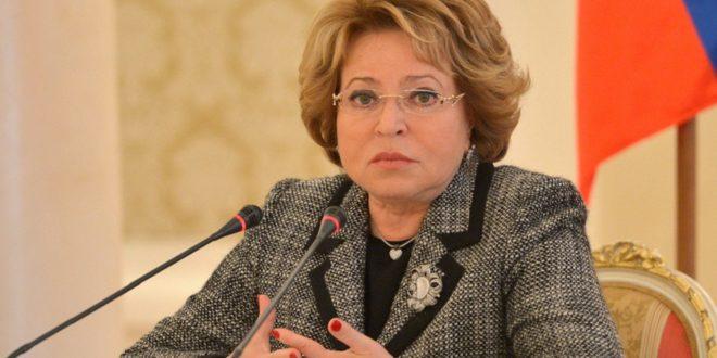 """фото ЗакС политика Матвиенко разрешила ругать власть, но предостерегла от ее """"унижения"""""""