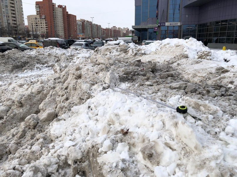 фото ЗакС политика В Петербурге ожидается многократное повышение снежного покрова