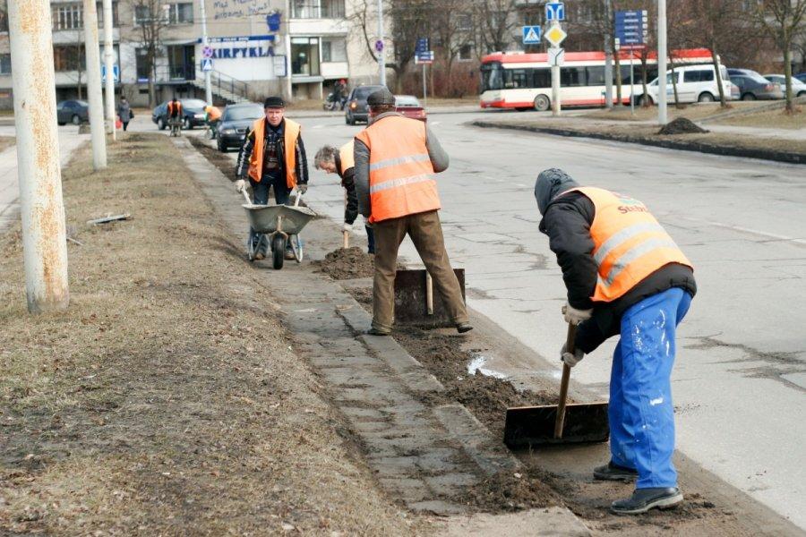 фото ЗакС политика Уборку петербургских улиц планируют завершить к Первомаю