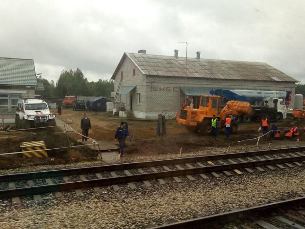 Подрядчик работ на Шиесе подал апелляцию на решение о сносе построек