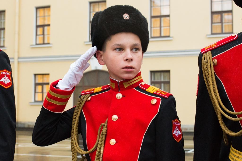 фото ЗакС политика Впервые в Петербурге кадеты провели парад