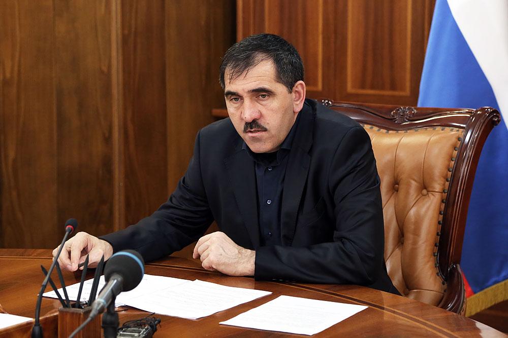 фото ЗакС политика Глава Ингушетии Евкуров уходит в отставку