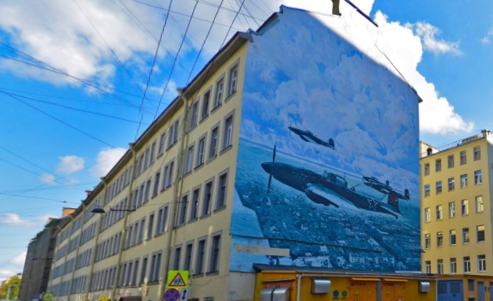 фото ЗакС политика Граффити на Петроградской стороне стало предметом судебного разбирательства