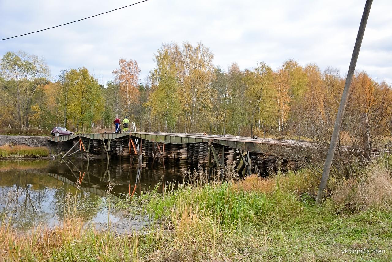 фото ЗакС политика Не дождавшись помощи властей, в Карелии самостоятельно провели мост на остров