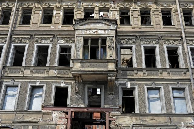 фото ЗакС политика От разрушенного дома Шагина на Фонтанке сохранится только фасад