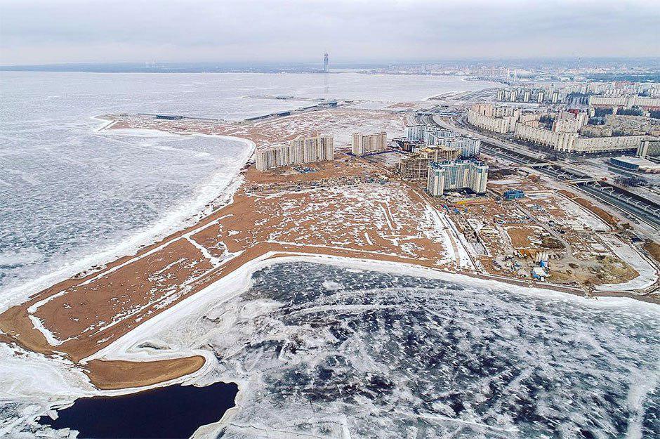 фото ЗакС политика В Росгидромете считают опасным развитие намывных территорий на Васильевском острове