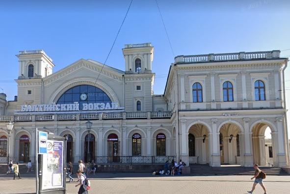 фото ЗакС политика Около Балтийского вокзала сносят торговый центр