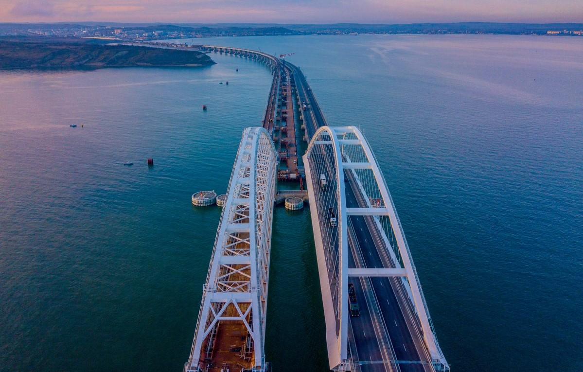 фото керченского моста сейчас московском западном