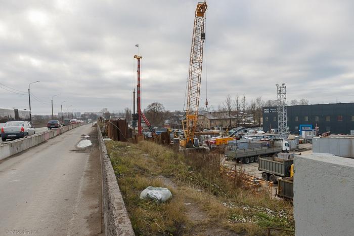 фото ЗакС политика Реконструкцию Лиговского путепровода возобновят до конца января