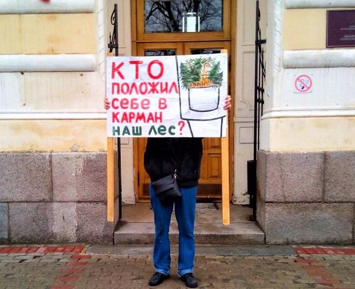 фото ЗакС политика В Выборге протестовали против строительства порта в Приморске