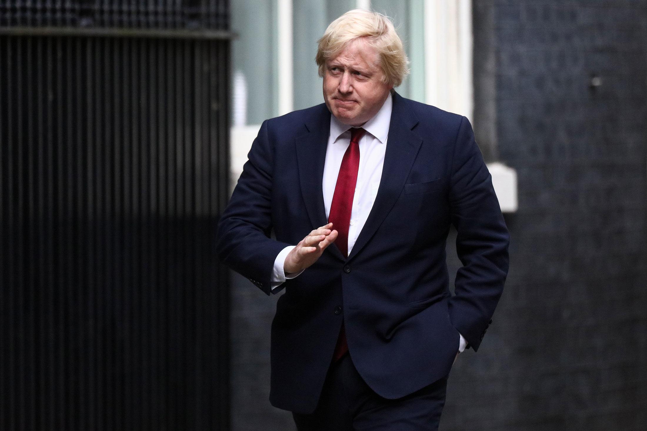 фото ЗакС политика Британский премьер Борис Джонсон подхватил коронавирус