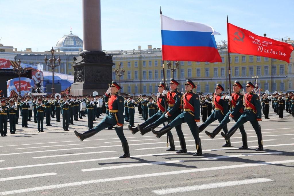 фото ЗакС политика На военном параде в Петербурге продемонстрируют более сотни единиц техники