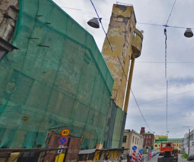 фото ЗакС политика На Васильевском острове отремонтируют конструктивистскую водонапорную башню