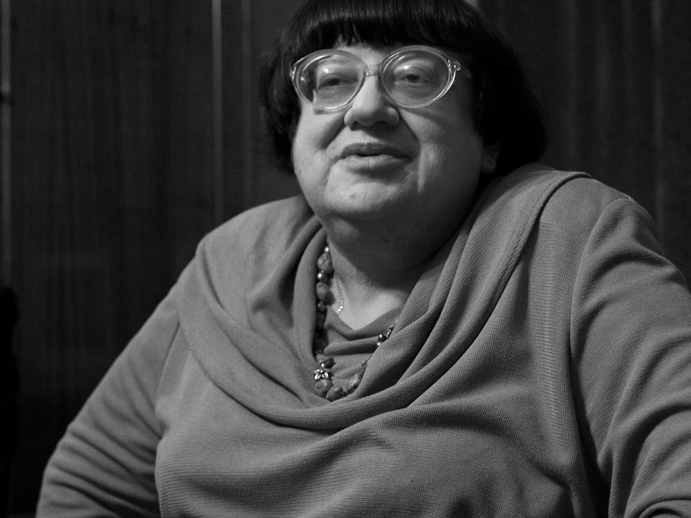 фото ЗакС политика У Соловецкого камня петербуржцы вспоминают Валерию Новодворскую