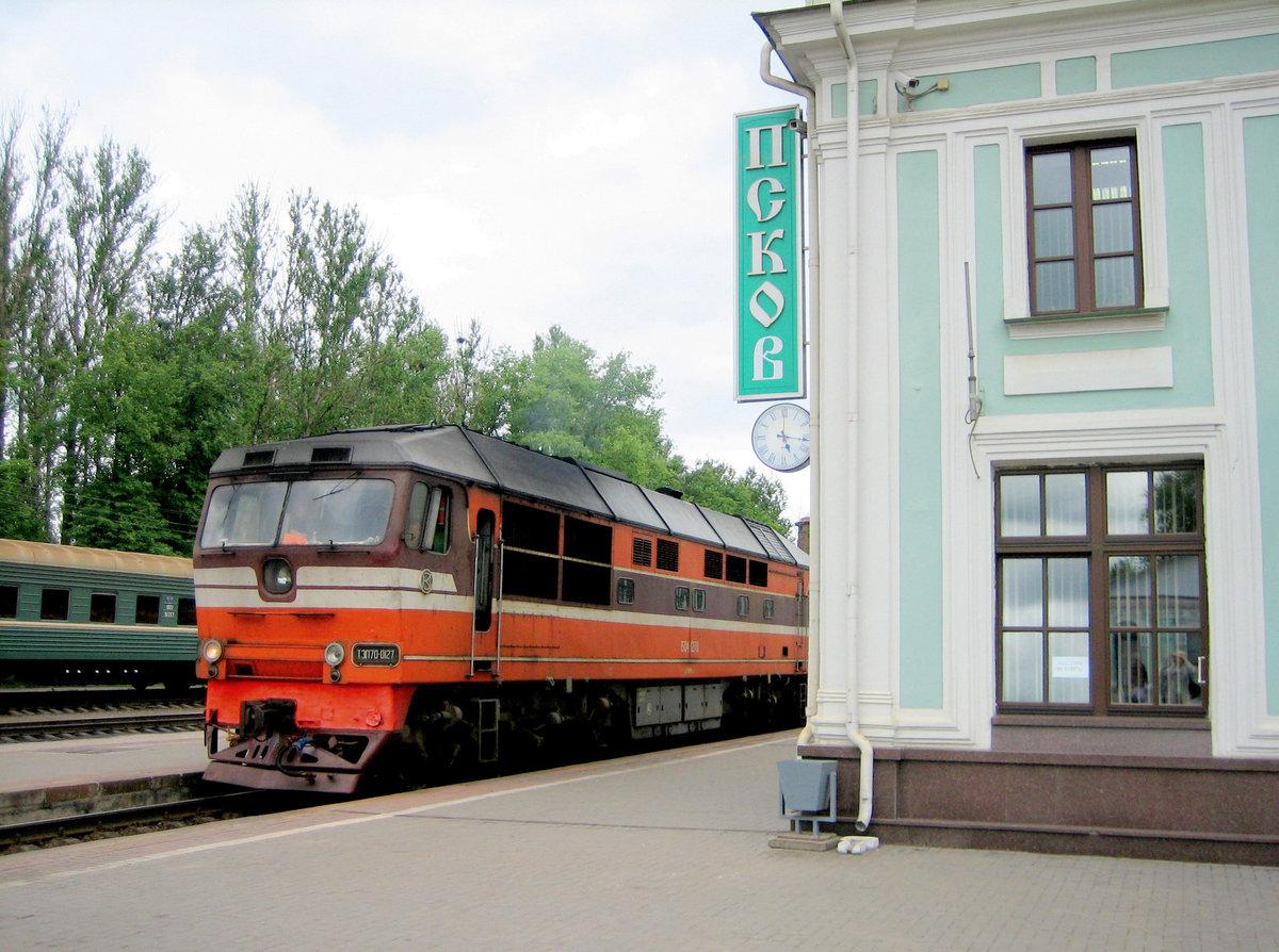 фото ЗакС политика Между Псковом и Великими Луками открыли железнодорожное сообщение