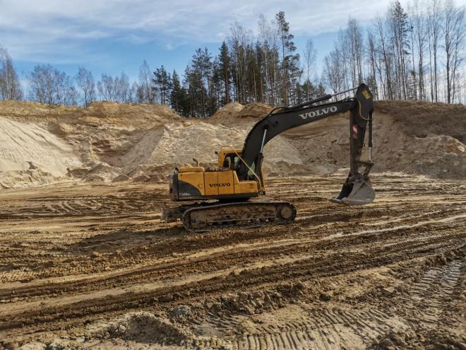 фото ЗакС политика В Мяглово остановили незаконную добычу песка