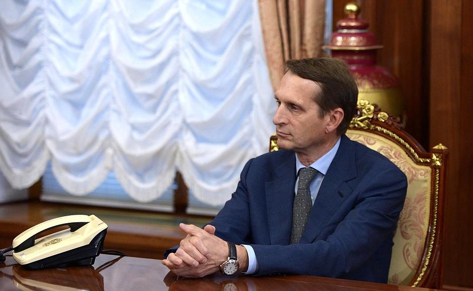 фото ЗакС политика Нарышкин: США выделили на белорусские протесты 20 млн долларов
