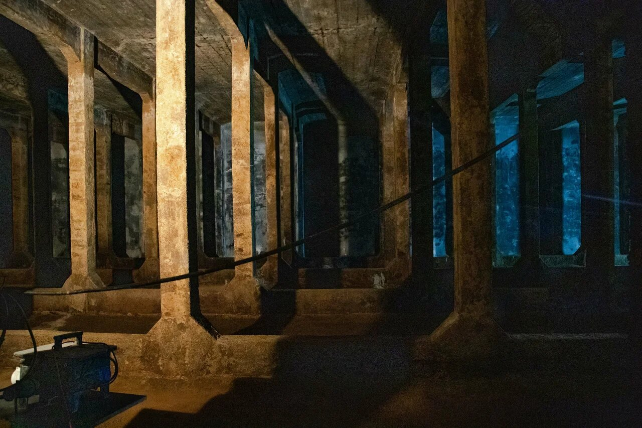 фото ЗакС политика Дореволюционную Волковскую водопроводную станцию закончили капитально ремонтировать
