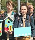 фото ЗакС политика В МО Красненькая речка установили 7 скворечников и 3 кормушки для птиц