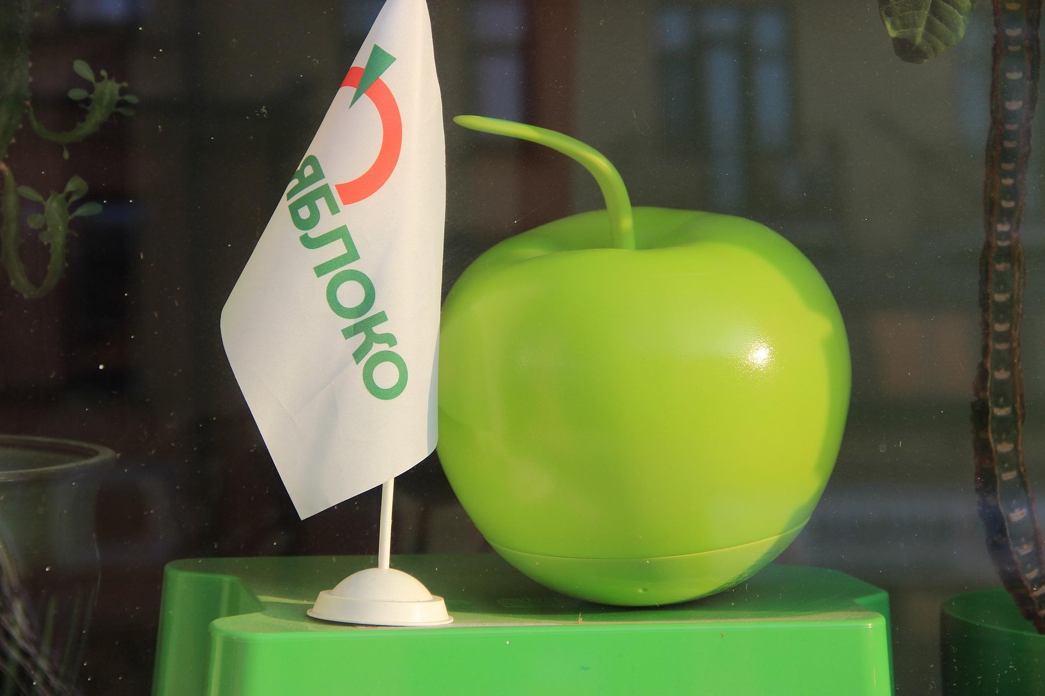 """фото ЗакС политика """"Яблоко"""" будет собирать деньги на муниципальную кампанию среди сторонников"""