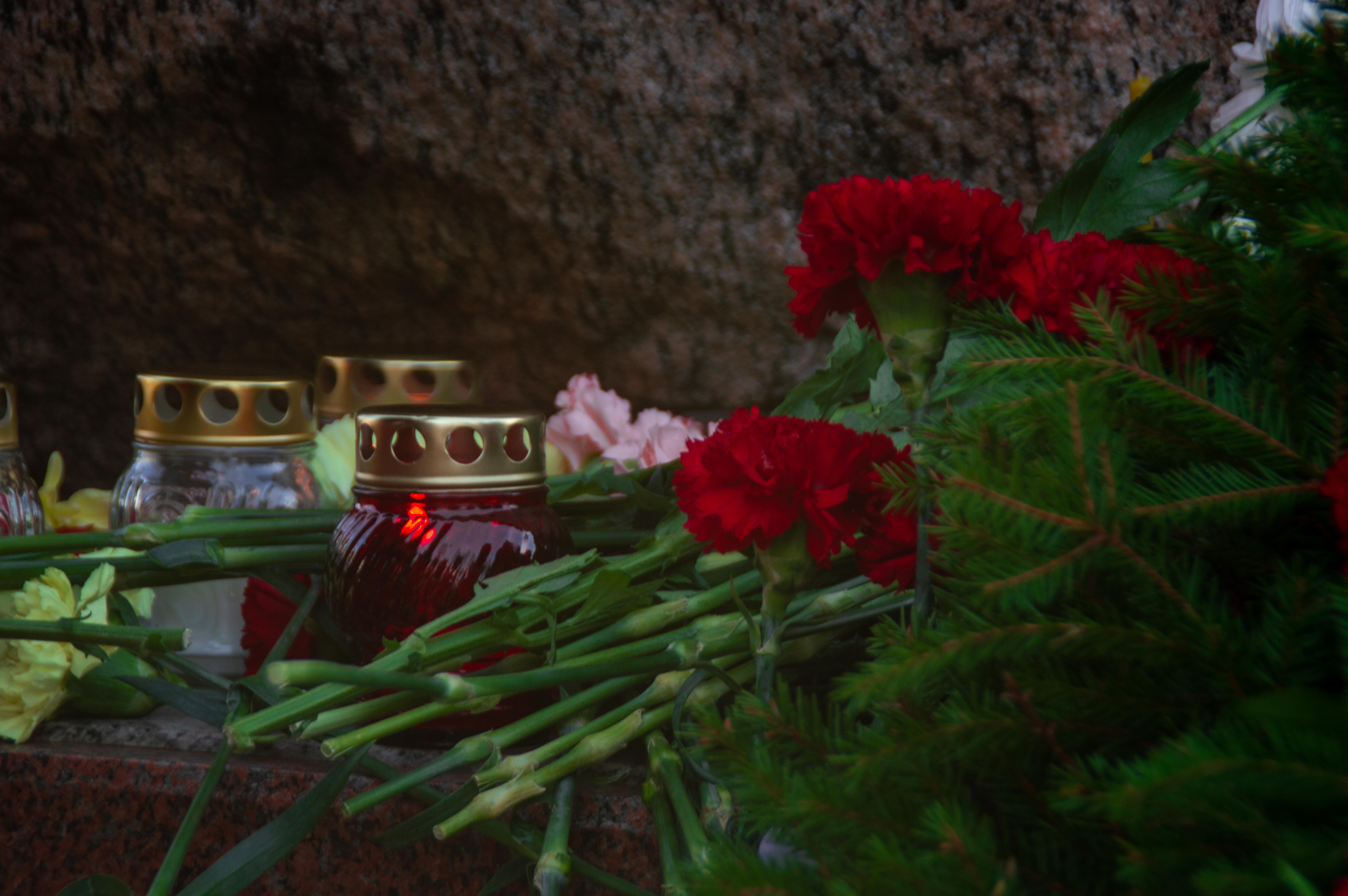 фото ЗакС политика Беглов и Макаров возложили цветы к бюсту Маргелова в честь Дня ВДВ