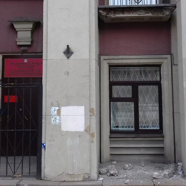 фото ЗакС политика На улице Седова обрушился балкон МО Ивановский