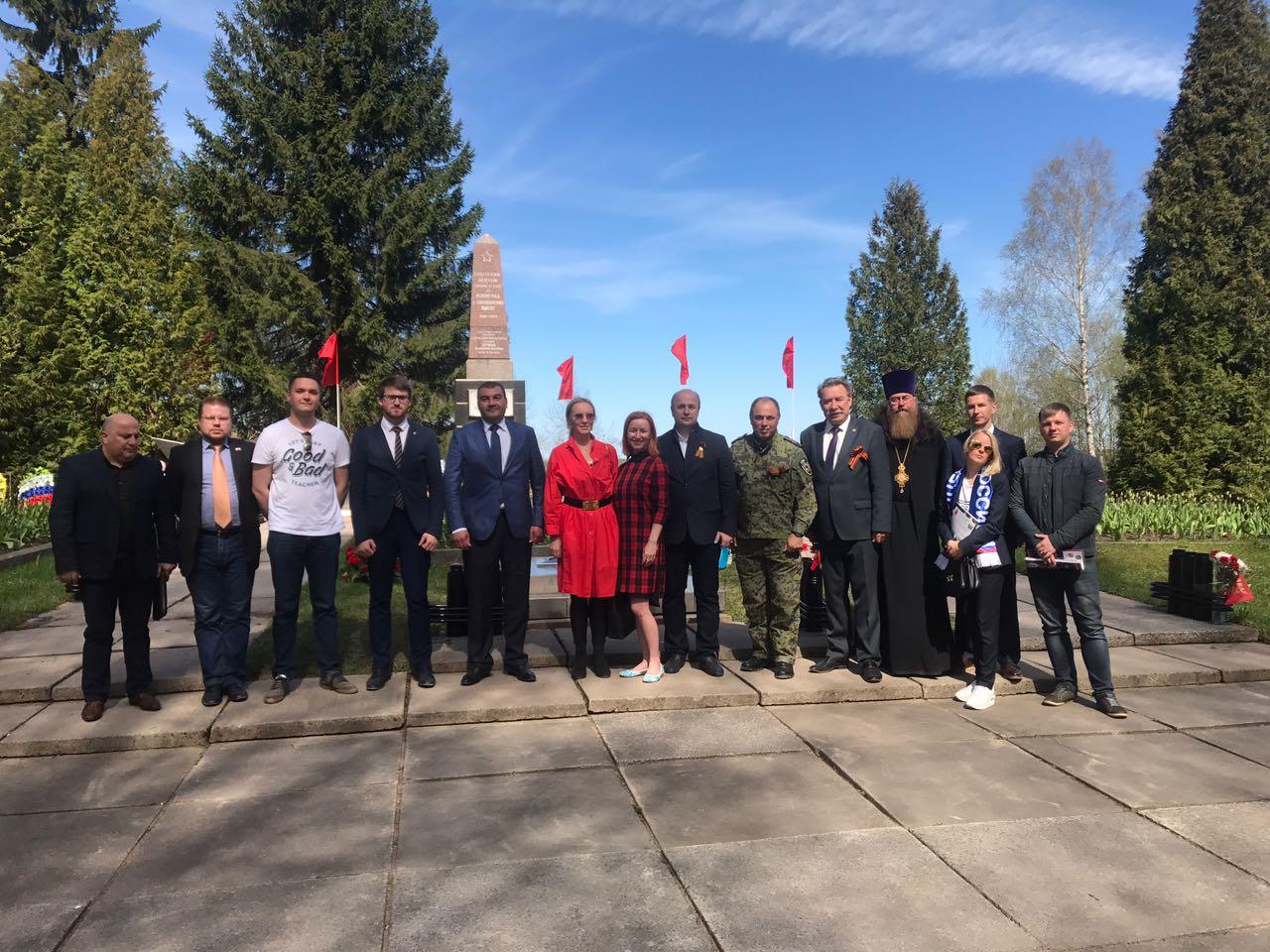 фото ЗакС политика Муниципалы Красненькой речки приняли участие в памятном мероприятии на «Синявинских высотах»