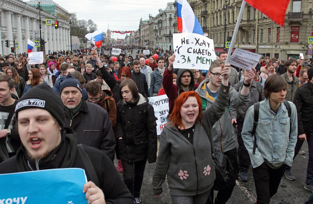 фото ЗакС политика ВЦИОМ: Молодежь надеется на лучшую жизнь в России будущего