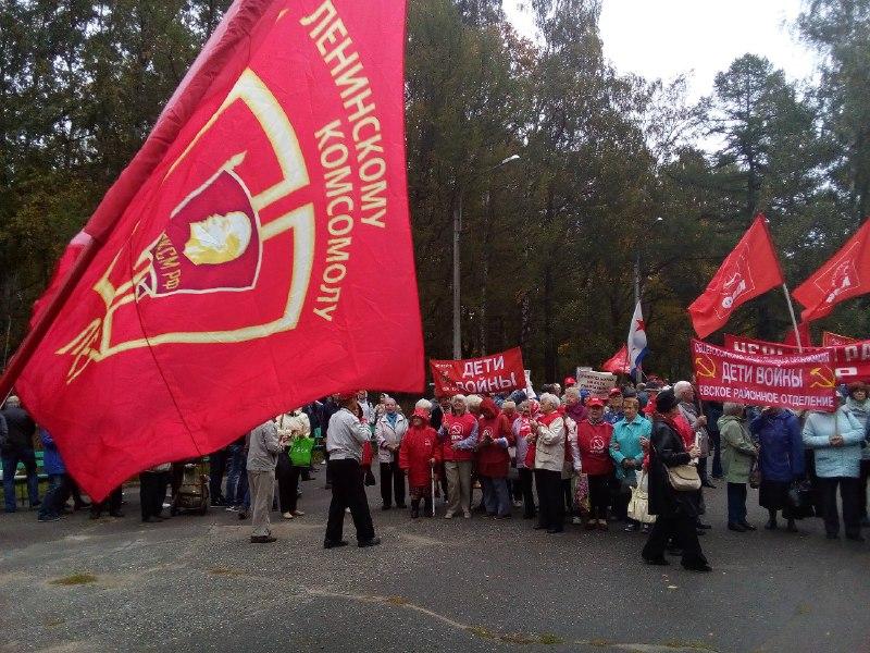 фото ЗакС политика ОКП предложат всем оппозиционерам договориться о бойкоте Удельного парка