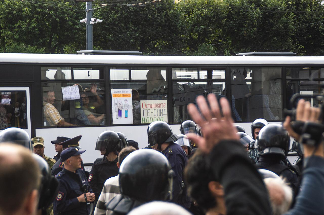 фото ЗакС политика Участник протеста 9 сентября в Петербурге добился от суда компенсации за свое задержание
