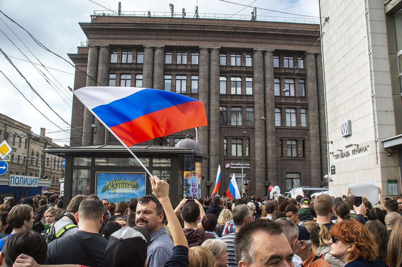 фото ЗакС политика Активисты назначили дату митинга против нарушений на выборах в Петербурге