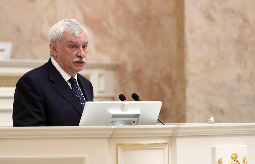 фото ЗакС политика Полтавченко посетил избирательный участок