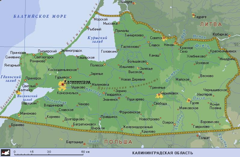 фото ЗакС политика В США представили план по захвату Калининградской области блоком НАТО