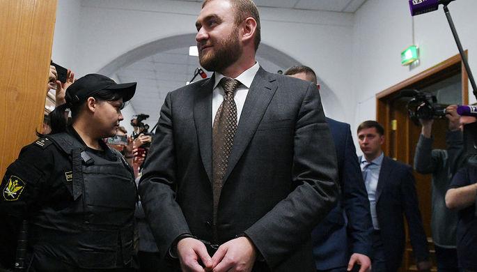 фото ЗакС политика Арестованный сенатор Арашуков подал декларацию о доходах из СИЗО
