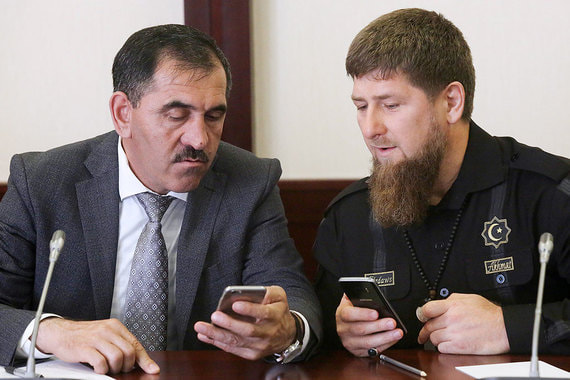 """фото ЗакС политика """"Коммерсант"""": Евкуров станет заместителем Шойгу"""