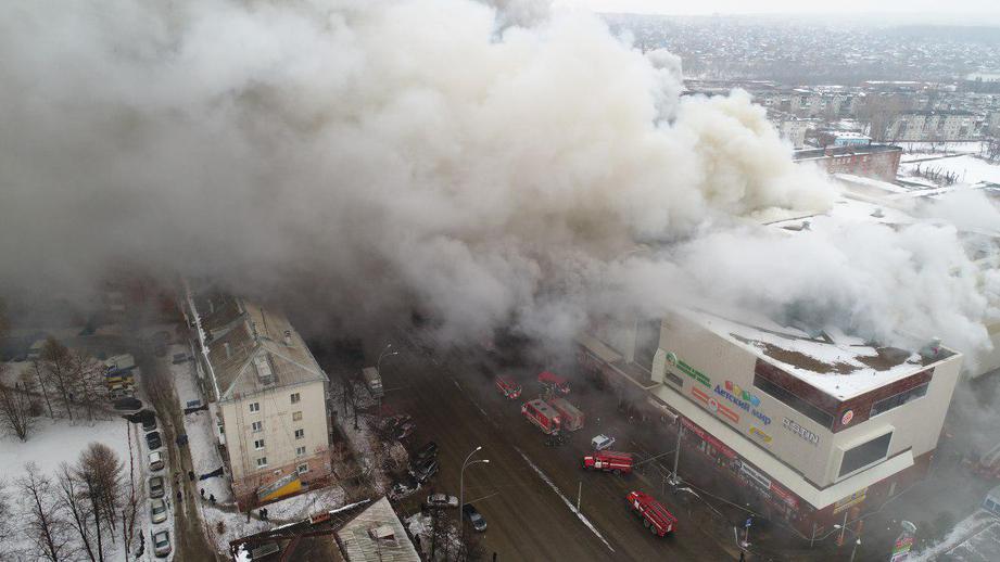 """фото ЗакС политика К 20 августа в Кемерово обещают открыть сквер в память о жертвах пожара в ТК """"Зимняя вишня"""""""