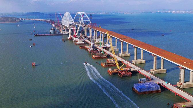 фото ЗакС политика Охрану Крымского моста обеспечит морская спецбригада Росгвардии