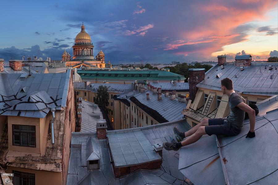 фото ЗакС политика Следом за депутатами ЗакСа экскурсии на крышах Петербурга возмутили и Беглова
