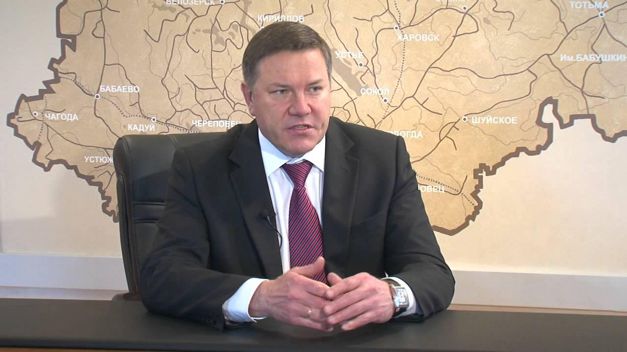 фото ЗакС политика Губернатором Вологодской области переизбран её прежний глава Олег Кувшинников