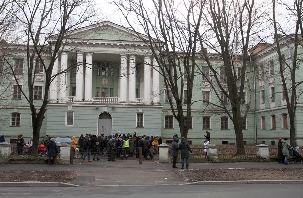 фото ЗакС политика КГИОП отказался включать медсанчасть на Одоевского в список объектов культнаследия