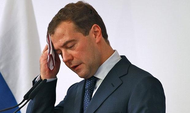фото ЗакС политика Медведева возмутило содержимое потребительской корзины