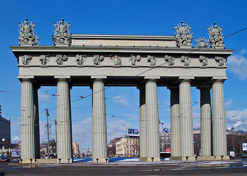 фото ЗакС политика Московские триумфальные ворота обследуют почти за 6 млн рублей