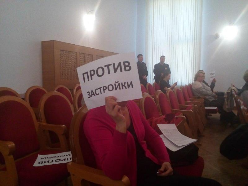 """фото ЗакС политика """"Доверия к власти не осталось никакого"""": защитники Муринского парка побывали на приёме у Батанова"""