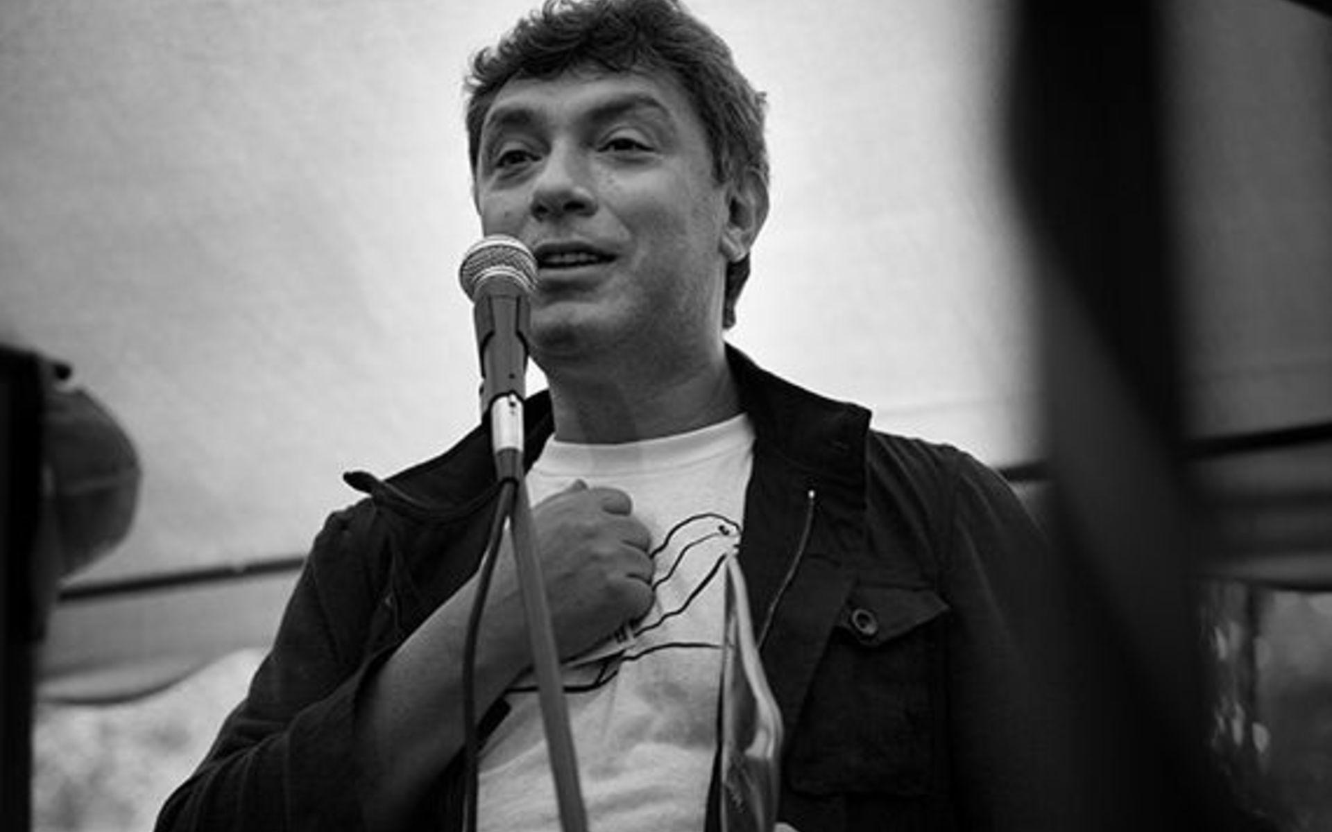 фото ЗакС политика Площади в Праге присвоят имя Немцова несмотря на протесты
