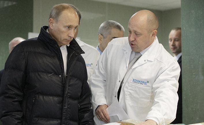 фото ЗакС политика Аффилированная с Пригожиным компания за 54 млн рублей накормит Путина